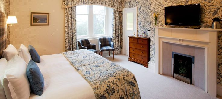 Lindeth is a Superior Room, on the first floor of our #LuxuryB&B in #Windermere, with views of the garden & field beyond. www.lindethfell.co.uk/bedrooms/lindeth