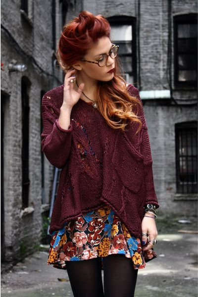 Red Ombre HairFashion, Hair Colors, Chestnut Brown Hair, Style, Red Hair, Red Ombre Hair, Redhair, Hair Chalk, Le Happy
