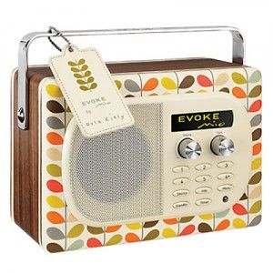 How cute is this Orla Kiely Radio?