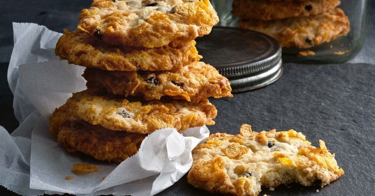 These scrumptious ruffle biscuits from an 80-year-old recipe prove good things last forever. - cornflake biscuits