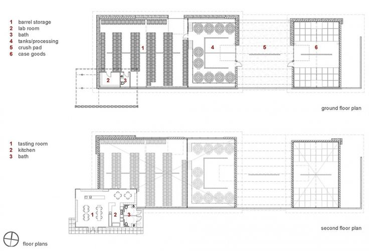 Floor plans wineries co pinterest project for Winery floor plans by architects