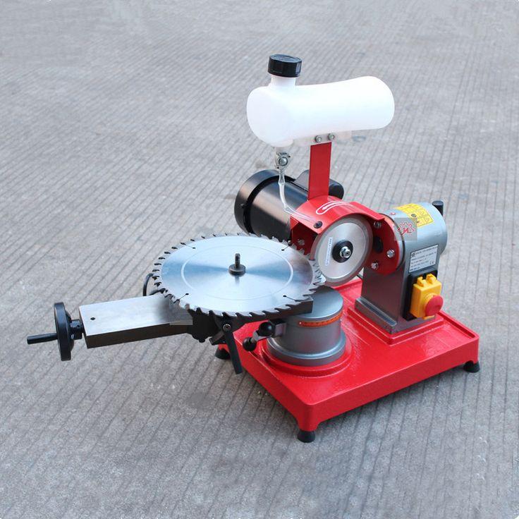 Сплав пилы станок нож мясорубки мини передач шлифовальный станок мини деревообрабатывающего оборудования