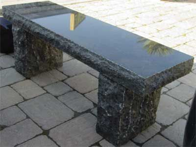 stone benches table bench granite htm garden for