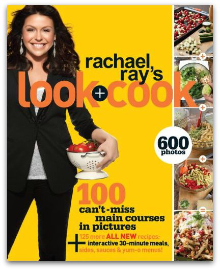 Teaching teen boys how to cook is a breeze with the Look + Cook Cookbook by Rachael Ray.