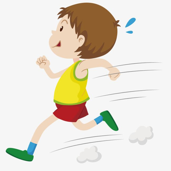 Running Man Running Vector Man Vector Run Png And Vector With Transparent Background For Free Download Running Clipart Running Vector Kids Running