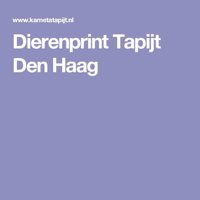 Dierenprint Tapijt Den Haag
