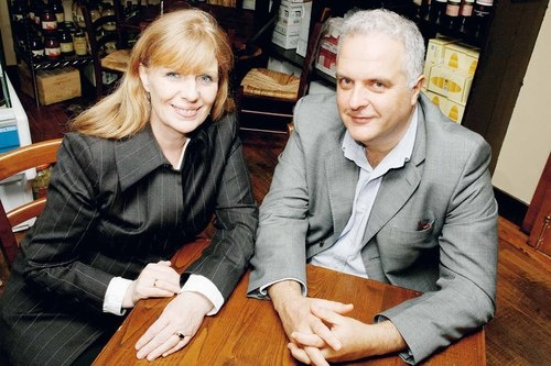 My cousin Eileen Dunne and husband Stefano Crescenzi own one of Dublin's best wine bars, Dunne and Crescenzi