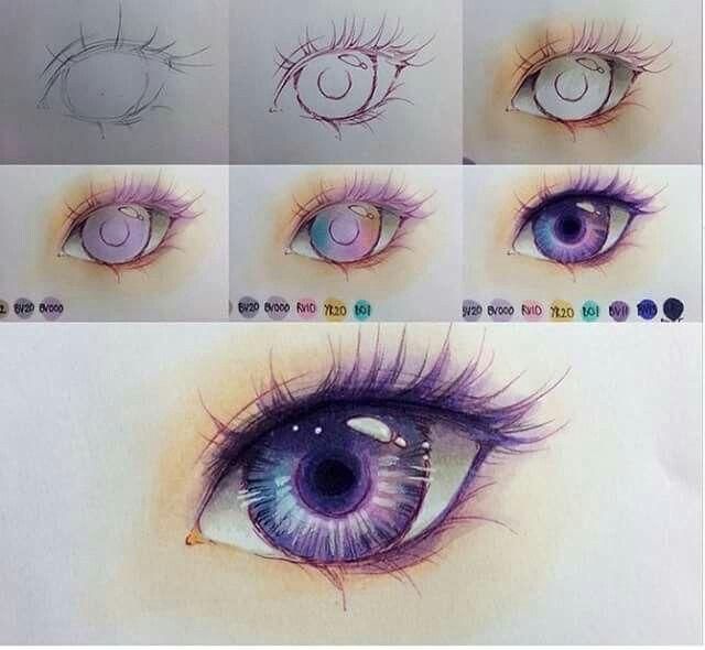 Eye drawing by ig @minmonsta