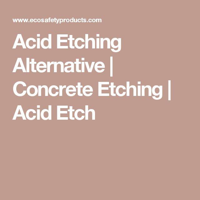 Acid Etch Concrete Garage Floor: 25+ Best Ideas About Acid Etching Concrete On Pinterest