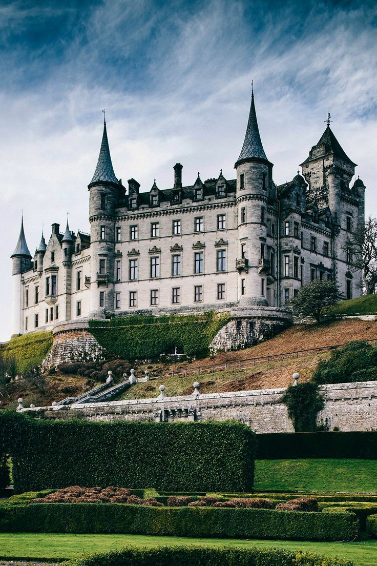 Dunrobin Castle in the Scottish Highlands