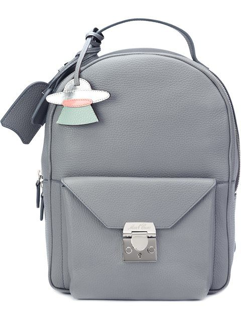 MARK CROSS envelope backpack. #markcross #bags #leather #canvas #backpacks #