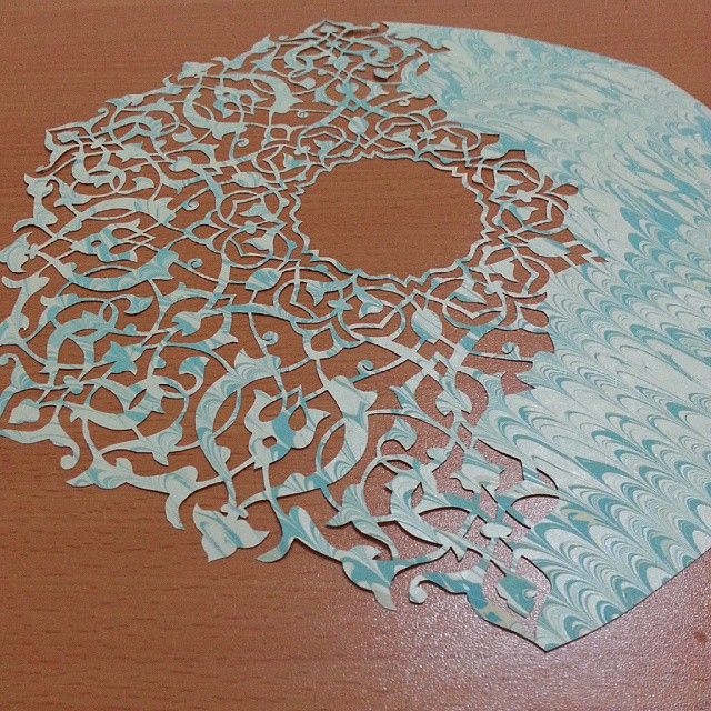 Intricate Paper Cutting