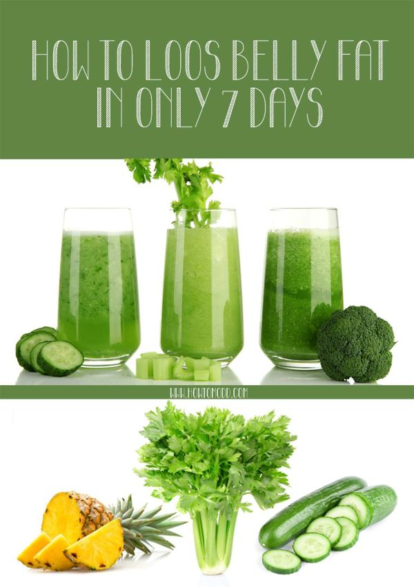 Take This Juice For 7 Days and Forget About Belly Fat! #Juice, #Belly_Fat, #Howto, #Lose_weight, #Diet