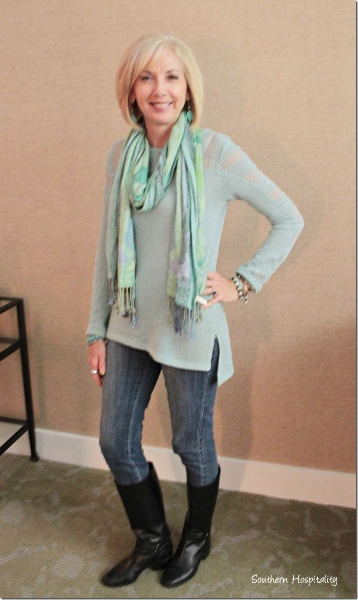 Model Ive Got A Few Outfits To Share With You For Fashion Over 50, From When I Went To New Orleans  Thats Another Fashion Posts On Cowboy Boots And Bootcut Jeans, Another Favorite Combo Of Mine During The Winter Months Do You Have