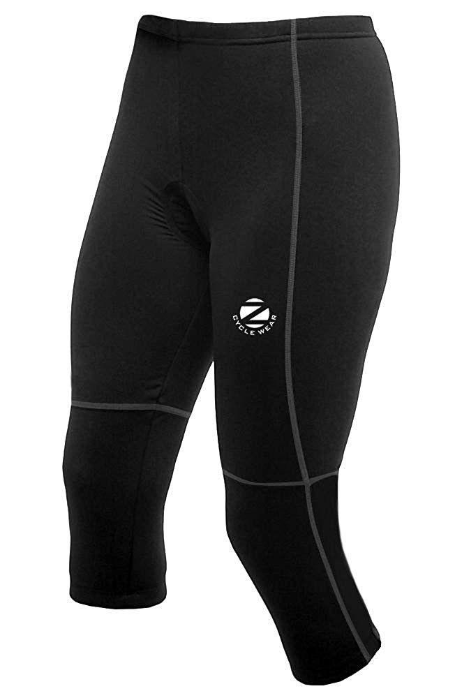 Womens Capri Knicker Cycling 3 4 Tight Pant Padded Knicks Black Cu18902n7lt Outdoor Clothing Women Tights Leggings Tightsleggings Outdoor Clothing