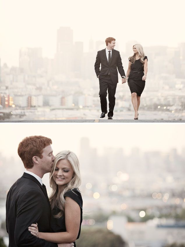 San Francisco Engagement Shoot - PHOTO SOURCE • JAY TSAI PHOTOGRAPHY