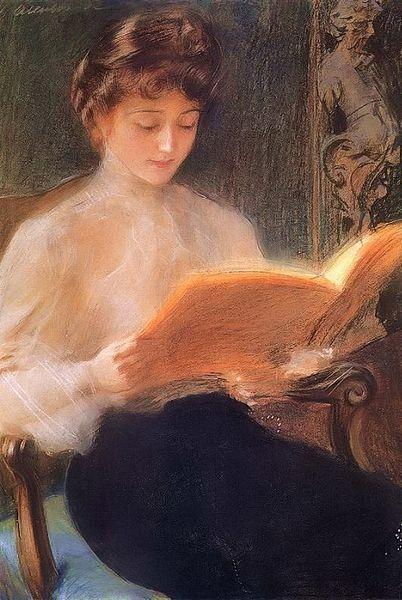Jacek Malczewski, Reading