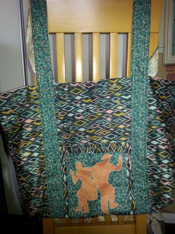 Caron's Lindy Tote Bag