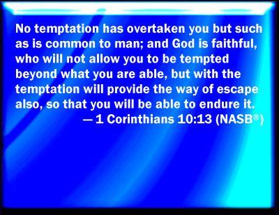 Corinthians 10:13