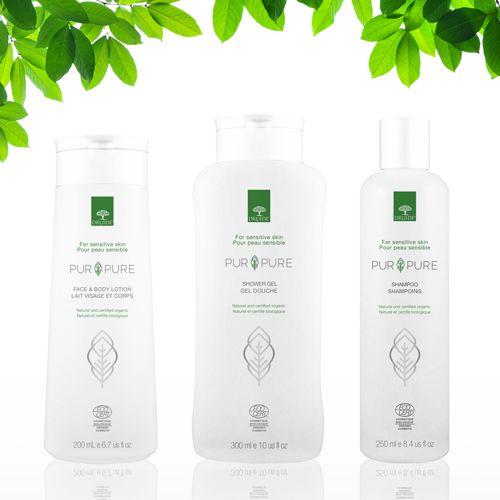 Emballage créé pour la gamme Pur & Pure de Druide