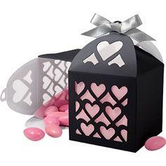 Black Paper Lantern Favor Box - Wedding Favors   # Pin++ for Pinterest #