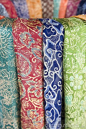 Balinese batik sarongs