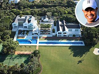 See Tiger Woods Extravagant New Estate - Tiger Woods : People.com