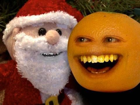 Annoying Orange - Sandy Claus - YouTube  http://twitter.com/annoyingorange