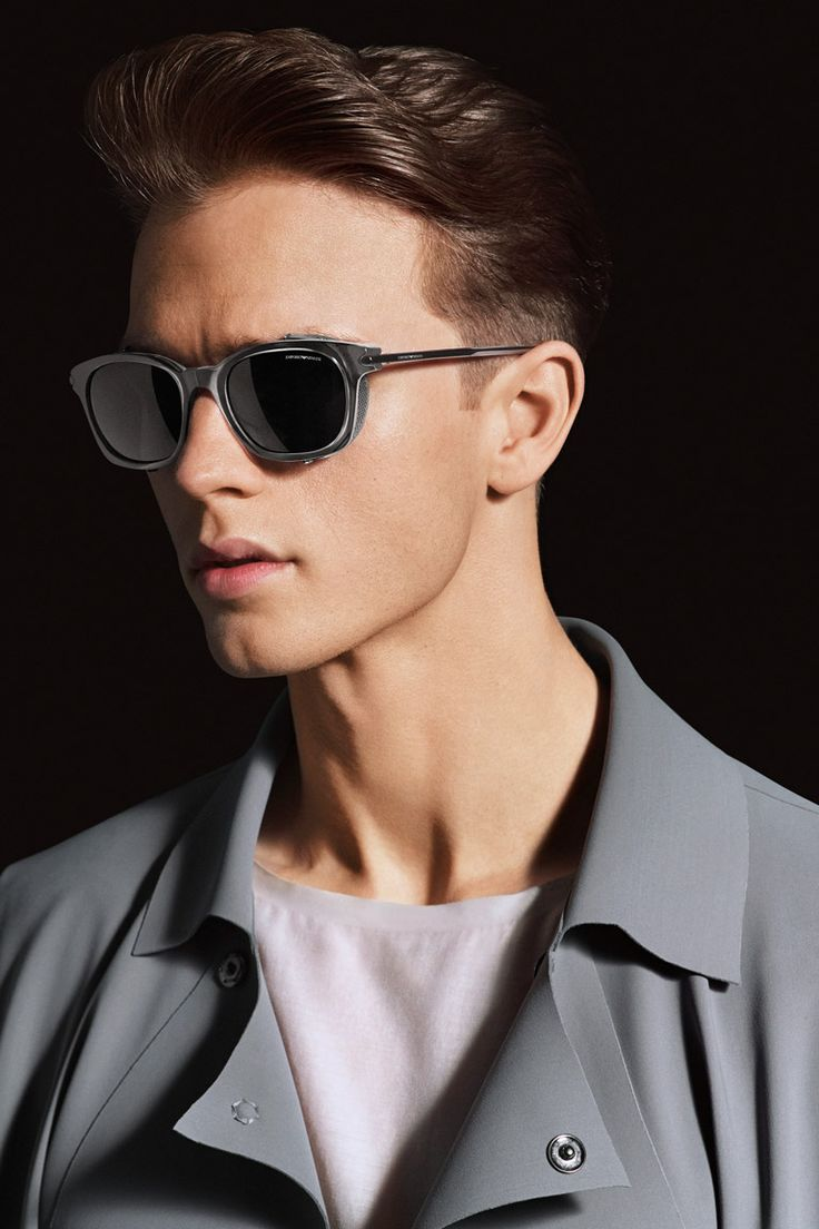ben brown oakley sunglasses  jarrod scott, benjamin eidem and bastiaan van gaalen front the spring/summer 2014 eyewear campaign of emporio armani, captured by the lens of alasdair