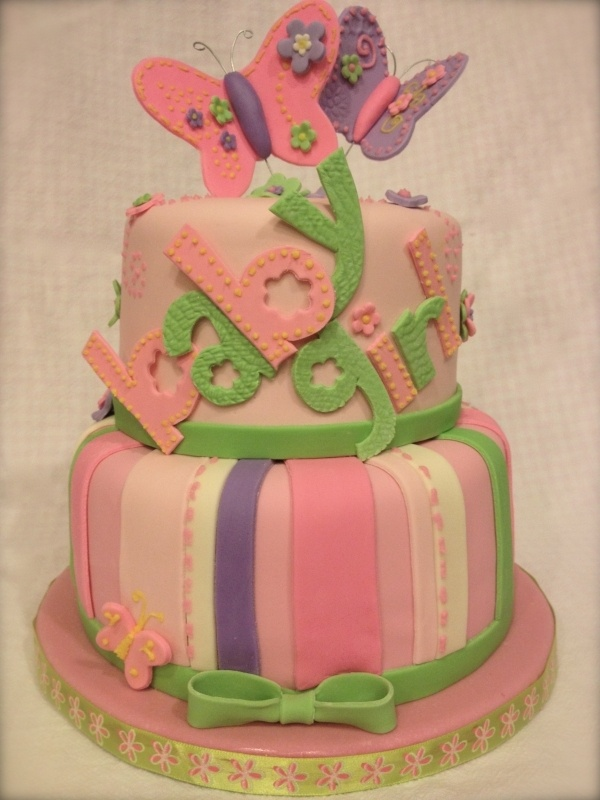 Butterfly Baby Shower Cake Images : Carter s Butterfly Baby Shower Cake baby Pinterest