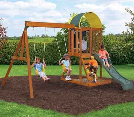 More affordable Wooden Swing sets - featured through the link below https://swingsetspecialist.com/