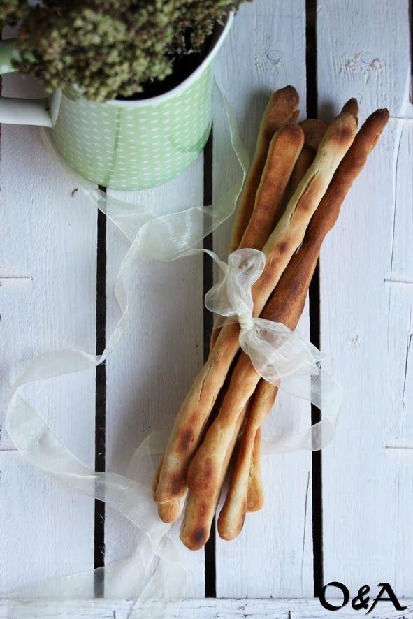 Olio e Aceto: Ricetta grissini all'origano con esubero di pasta madre