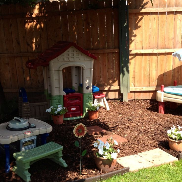 Children can help plant the flowers and watch them grow for Play yard plans