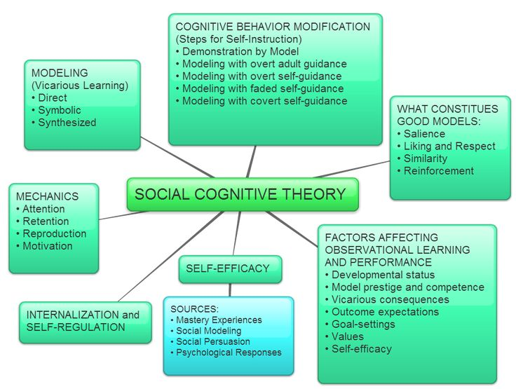 Image result for bandura social cognitive theory  NCE AGH  Social learning theory Social
