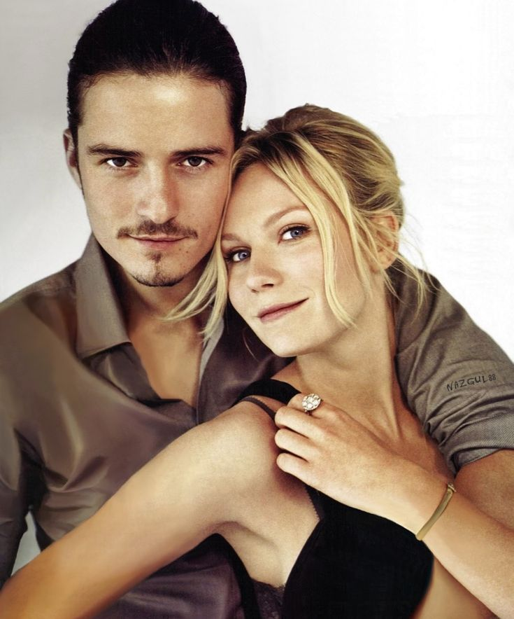 Orlando Bloom And Kirsten Dunst. I never liked her in spider man. She good in Elizabethtown?