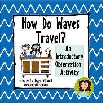 Start making waves in your class by using an engaging observation activity to get students excited about the upcoming unit!  This product is a great lab activity to get students thinking about mechanical waves - what causes a wave to start, how the energy is transferred through the medium, and how the wave's energy affects objects in the medium.