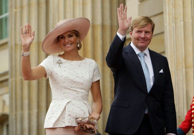 Queen Maxima are currently in Bogotá, Colombia for a one-day visit