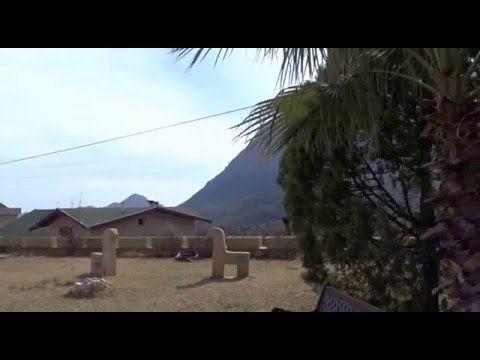 Antalya Geyikbayırında Doğa İçerisinde Deniz Manzarılı Özel Yapım Triple...