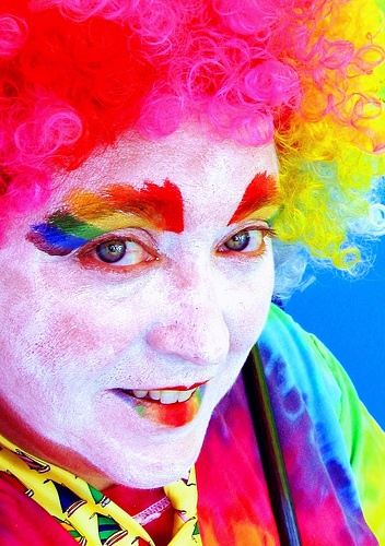 """""""How to Be a Clown""""=>"""