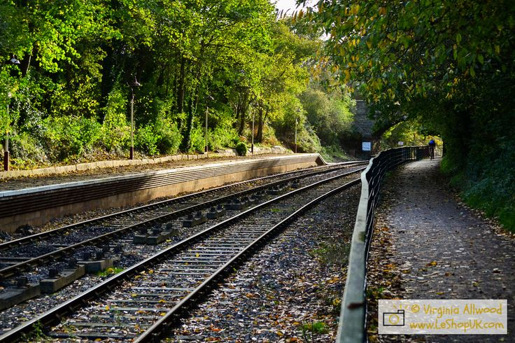 """Train Tracks"" by Virginia Allwood http://www.leshopuk.com/store/scenery/h2c8b0386#h3a63ca2f"