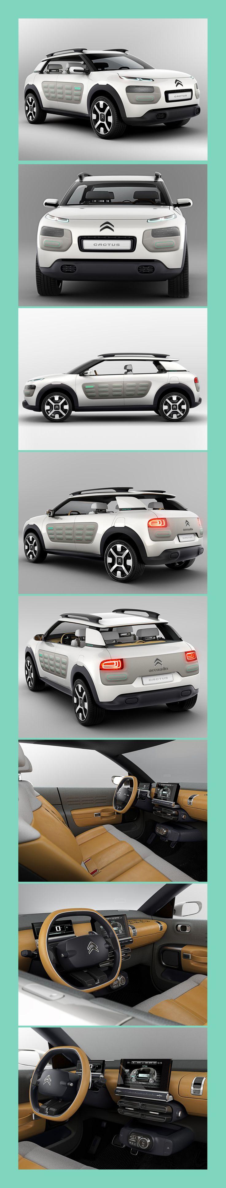 Citroën Cactus Concept Car - Frankfurt 2013