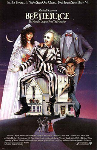 Beetlejuice 11x17 Movie Poster (1988) @ niftywarehouse.com #NiftyWarehouse #Beetlejuice #Movie #Film #Cult #BeetlejuiceMovie #Halloween #TimBurton