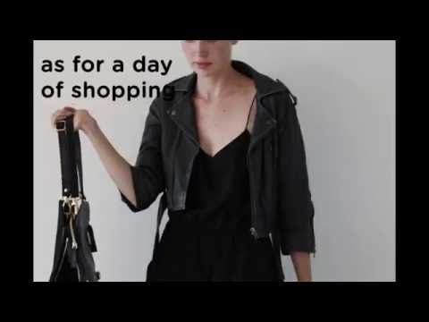 Bukvy Bag - the ultimate bag - YouTube genuine leather, backpack, tote, clutch, lap top case and cross body bag - all in one!