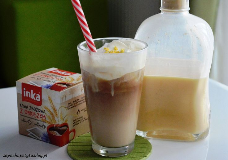 Frappuccino with eggnog #zapachapetytu #frappuccino #eggnog #coffee