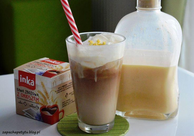 Frappuccino with eggnog #zapachapetytu #frappuccino #eggnog #coffee