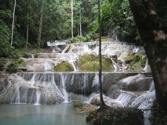 Moramo Waterfall @ South East Sulawesi, Indoenesia