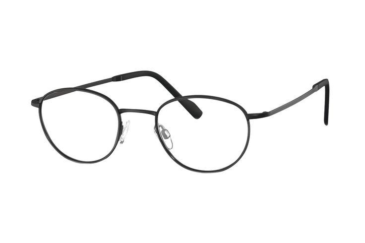 TITANflex 820751 10 Brille in schwarz matt | Die Korrektionsbrillenbrillen von TITANflex zeichnet sich durch eine moderne, schlichte Form aus. Die Brillenbügel unterstützten die Fassung hervorragend. Durch das geringe Gewicht und die hochwertige Verarbeitung lassen sich diese...