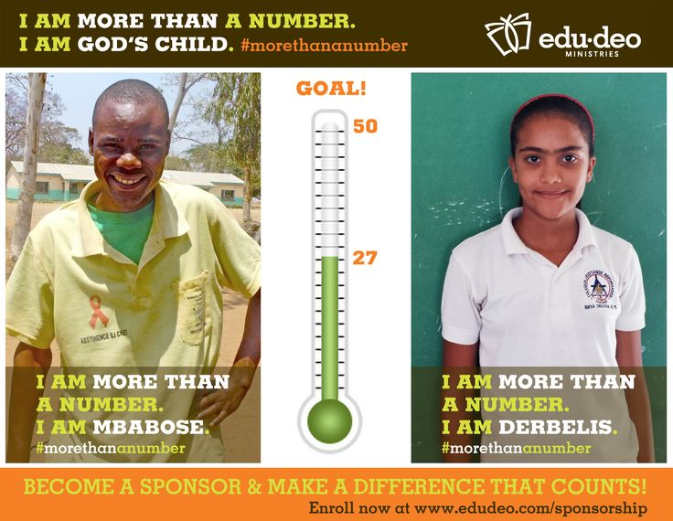 Only 2 more days remain for our Sponsorship Campaign. Help us end strong!  Consider becoming a Sponsor today and make a difference that counts. Enroll now at www.edudeo.com/sponsorship  Each child is more than a number...#morethananumber