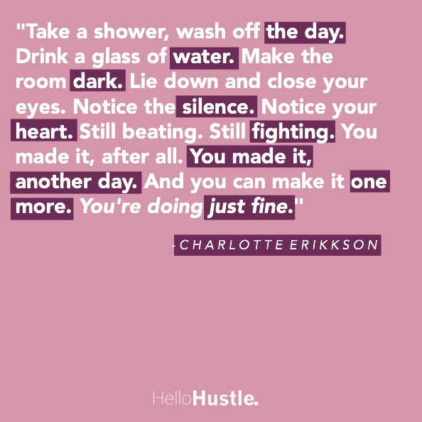 We've all hit a wall while we're hustling for our dreams. Not everything is fun and games and sometimes the feeling of defeat can be overpowering. As uninspired as you may feel, or as much as you want to give up, put on those sweatpants and binge-watch Netflix (an every day temptation for me), there are so many reasons to push forward in the pursuit of the life you've dreamt of. Here are 10 quotes I'm constantly going back to when I'm feeling down. They've lifted me and inspired me, now....