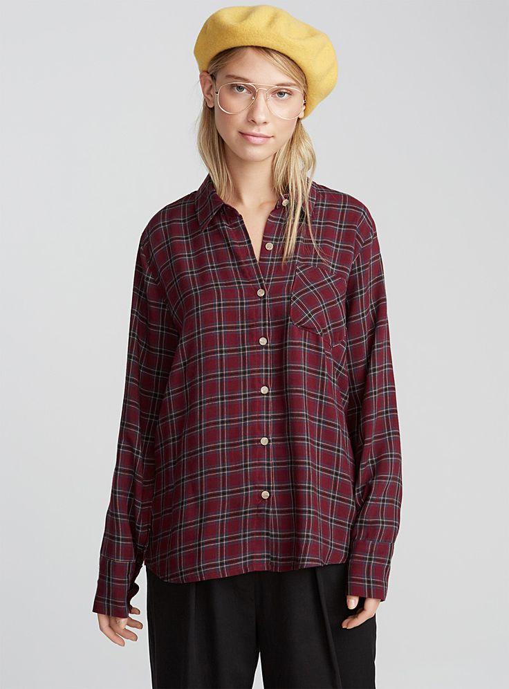Accent pocket shirt | Twik | Shop Women's Blouses and Shirts | Simons